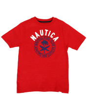 Nautica - Surf Club Crew Neck Tee (4-7)-2309849