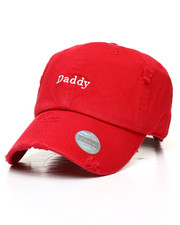 Hats - Daddy Distressed Dad Hat-2310370