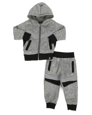 Boys - 2Pc Hoodie & Jogger Set (2T-4T)-2309499