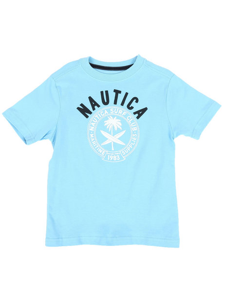 Nautica - Surf Club Crew Neck Tee (4-7)