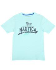 Sizes 8-20 - Big Kids - Maritime Crew Neck Tee (8-20)-2309825