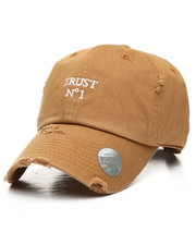 Hats - Vintage Distressed Trust No 1 Dad Hat-2310375