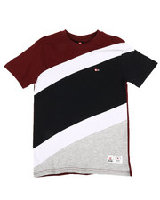 Sizes 8-20 - Big Kids - Diagonal Cut & Sew Tee (8-20)-2310295