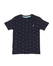 Nautica - Allover Anchor Print Tee (2T-4T)-2310320