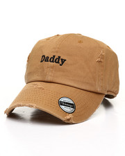 Hats - Daddy Distressed Dad Hat-2310369