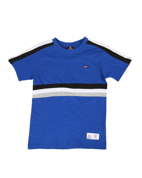 Southpole - Color Block Stripe Tee (8-20)
