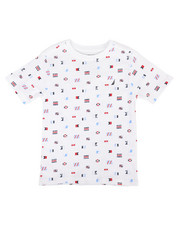 Nautica - Allover Flag Print Tee (4-7)-2310315