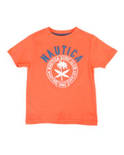 Nautica - Surf Club Crew Neck Tee (2T-4T)-2309517