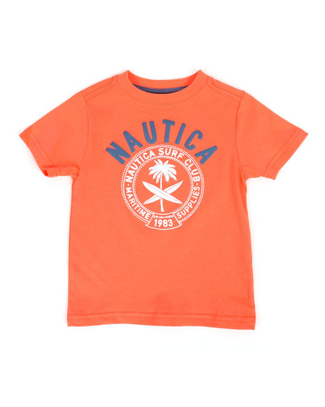 Nautica - Surf Club Crew Neck Tee (2T-4T)