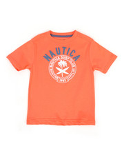 Nautica - Surf Club Crew Neck Tee (4-7)-2309531
