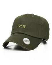 Dad Hats - Henny Vintage Distressed Dad Hat-2310539