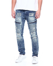 Slim - TINT BLUE DISTRESSED JEAN-2311143