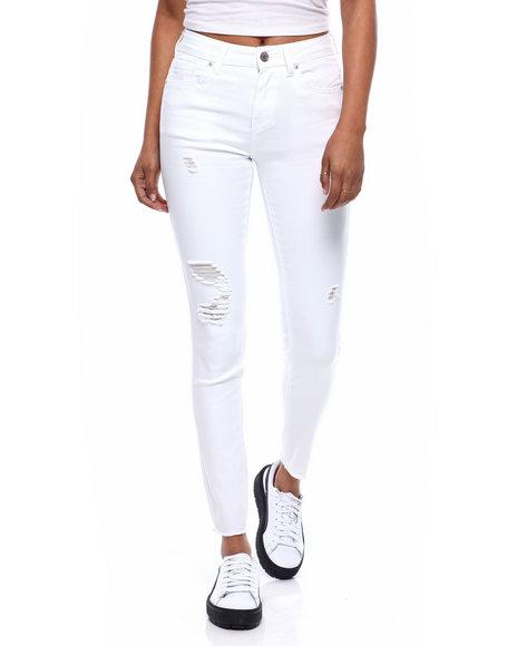 Fashion Lab - Hi Waist 5 Pocket Skinny Jean