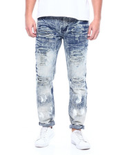 Jeans & Pants - PAINT OUT INDIGO JEAN-2311150