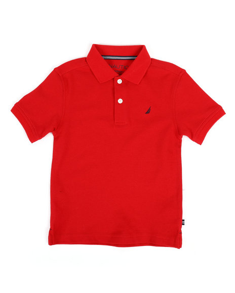 Nautica - Anchor Stretch Deck Polo (4-7)