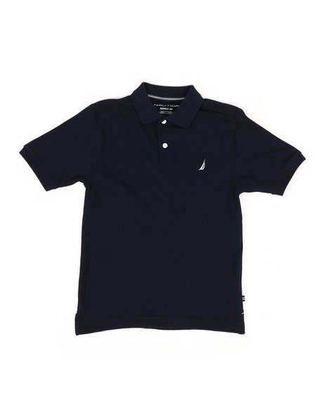 Nautica - Anchor Stretch Deck Polo (8-20)
