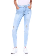 Bottoms - Distressed 5 Pocket Skinny Jean-2311302