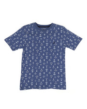 Nautica - Allover Anchor Print Tee (8-20)-2310893