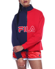Athleisure for Women - Nayara 1/4 Zip Sweatshirt-2311516