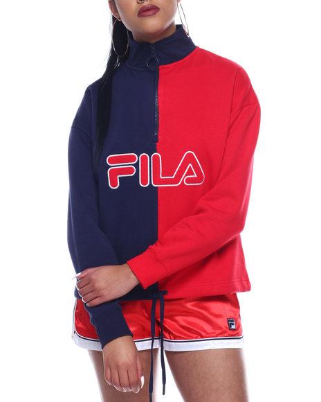 Fila - Nayara 1/4 Zip Sweatshirt