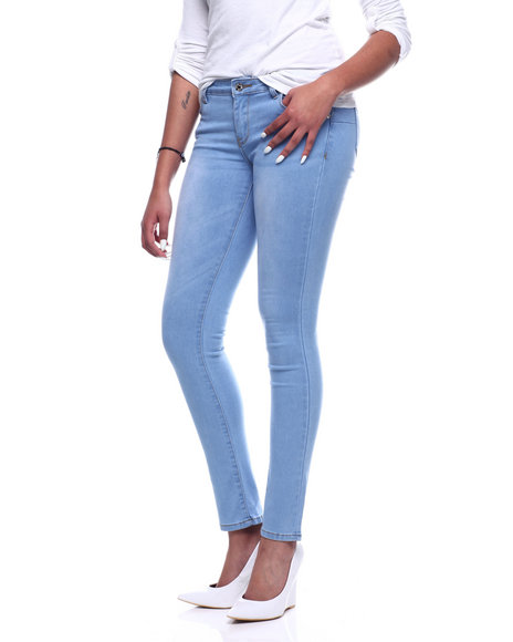 Fashion Lab - Hi Waist Baked 5 Pocket Skinny Jean