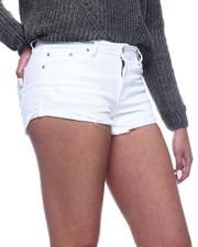 Bottoms - Cut Off Frayed Denim Short-2311079