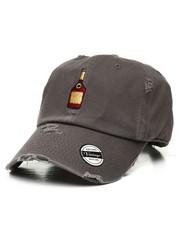 Fashion Lab - Vintage Distressed Bottle Dad Hat-2310427