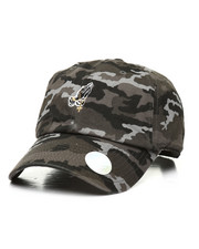 Dad Hats - Praying Hands With Rosary Black Camo Cap-2311492