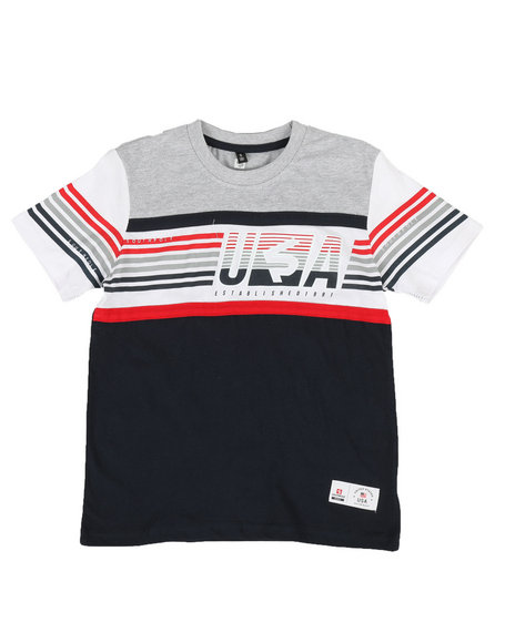 Southpole - Color Block Tee (8-20)