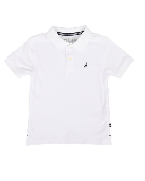 Nautica - Anchor Stretch Deck Polo (2T-4T)