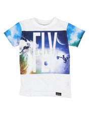 Fly Society - Space Surf Tee (4-7)-2311404
