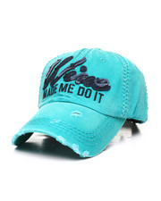 Dad Hats - Wine Made Me Do It Vintage Distressed Dad Hat-2311509