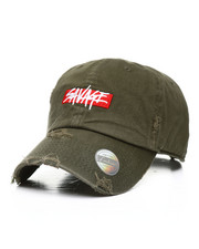 Dad Hats - Savage Distressed Dad Hat-2311499