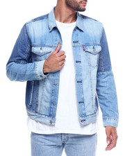 Denim Jackets - BLOCK TRUCKER - BOULA-2312173