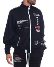 Track Jackets - OUTERSPACE TRACK JACKET-2312113