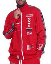 Track Jackets - OUTERSPACE TRACK JACKET-2312140