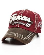 Hats - Texas Vintage Distressed Dad Hat-2311610