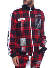Buyers Picks - PLAID HUMAN ERROR TRACK JACKET-2312107