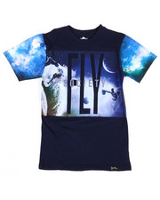 Sizes 8-20 - Big Kids - Space Surf Tee (8-20)-2311414