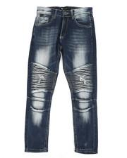 Jeans - Moto Rip & Repair Jeans (8-20)-2311025