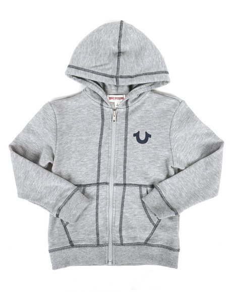 True Religion - French Terry Hoodie (4-7)