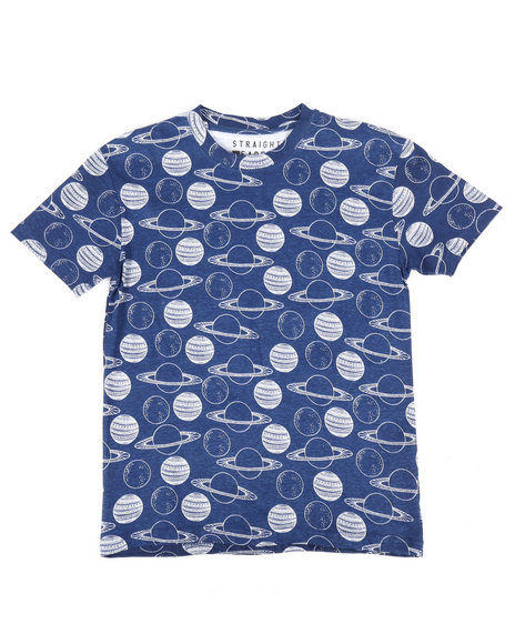 Arcade Styles - All Over Space Print Tee (8-20)