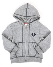 True Religion - French Terry Hoodie (2T-4T)-2310859