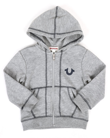 True Religion - French Terry Hoodie (2T-4T)