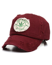 Buyers Picks - Marijuana Plant Distressed Dad Hat-2311521