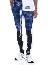 Jeans & Pants - PLAID HUMAN ERROR TRACK PANT-2312167