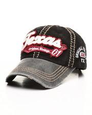 Hats - Texas Vintage Distressed Dad Hat-2311609