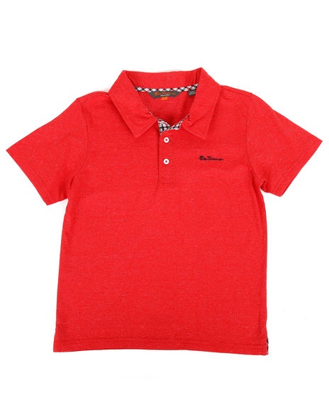 Ben Sherman - Short Sleeve Polo Shirt (8-20)