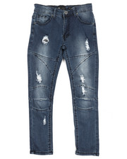 Jeans - Cut & Sewn Denim Jeans (8-20)-2311007