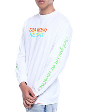 Diamond Supply Co - DIAMOND RESORT L/S TEE-2312757